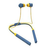 Беспроводные Bluetooth наушники Bluedio TN2 с шейным ободом и активным шумодавом (Синий)