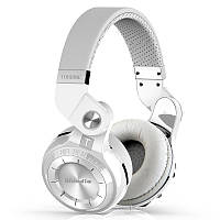 Беспроводные Bluetooth наушники Bluedio T2S с автономностью до 40 часов (Белый)