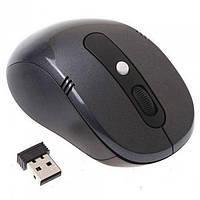 Беспроводная компьютерная оптическая мышка G-108 мышь Чёрная