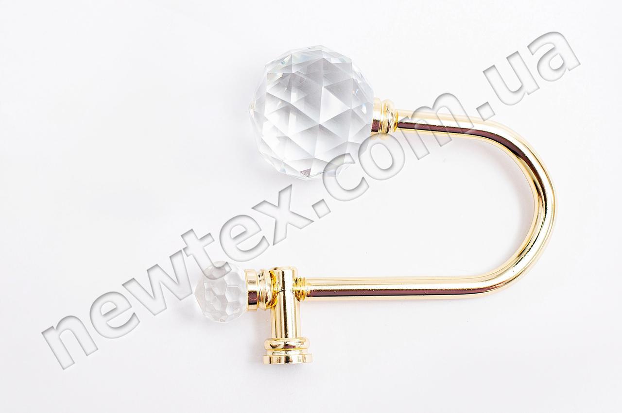 Держатель (подхват) для штор R101 Золото