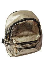 Жіночий рюкзак з блискучої екошкіри, 25*23*12 см