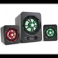 Колонки для компьютера Kisonli U-2600 LED сабвуфером