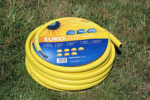 Шланг для полива Tecnotubi Euro Guip Yellow садовый диаметр 5/8 дюйма, длина 50 м (EGY 5/8 50), фото 2