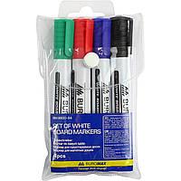 Набор сухостираемых маркеров из 4 штук