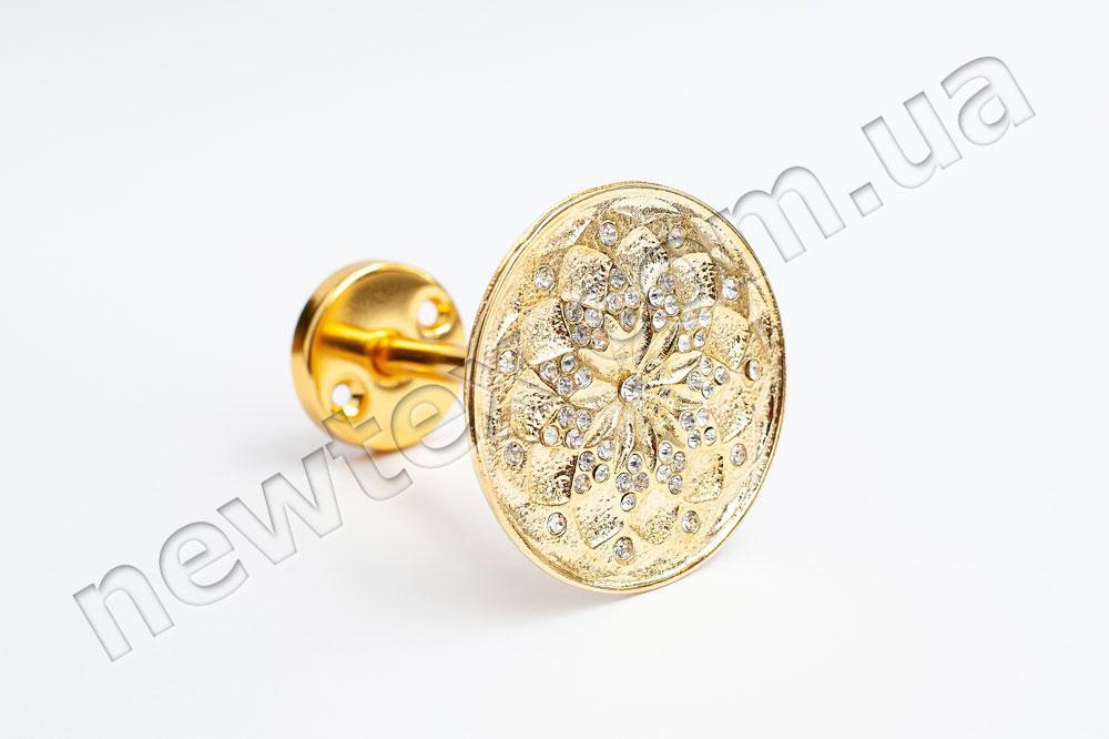 Держатель (подхват) для штор R301 Золото