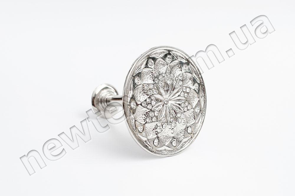 Держатель (подхват) для штор R301 Серебро