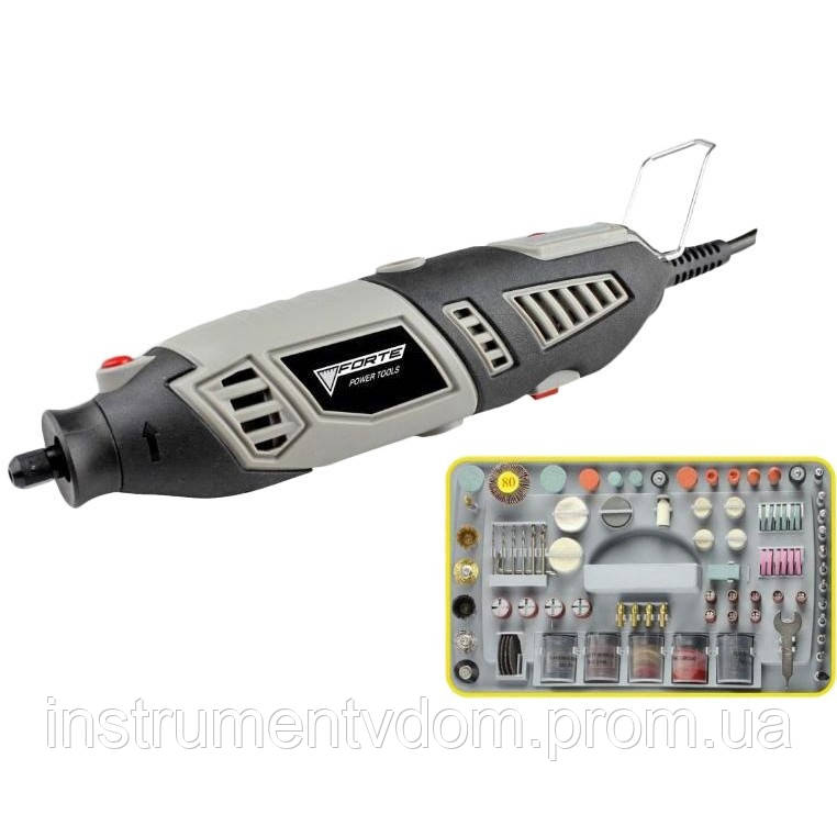 Многофункциональный инструмент FORTE MG 17218 (с набором насадок)