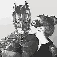 Картина по номерам Сладкий поцелуй 40х40 см (KHO2695)