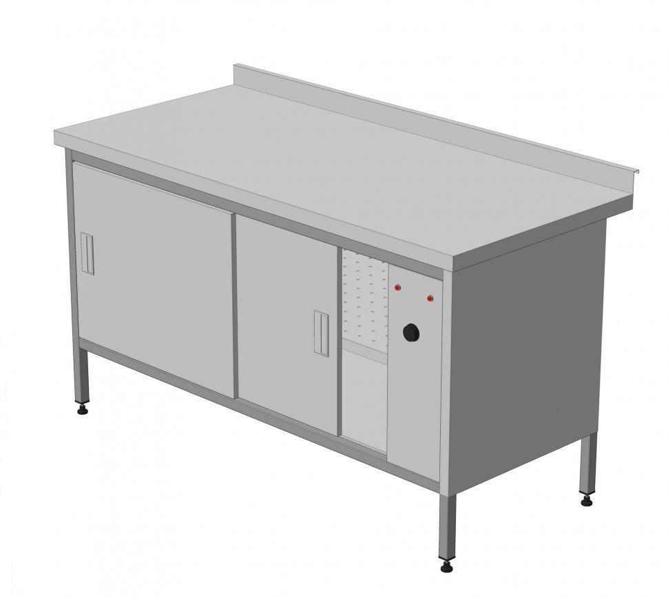 Стол тепловой-Статический 1500х800х850 мм Эталон