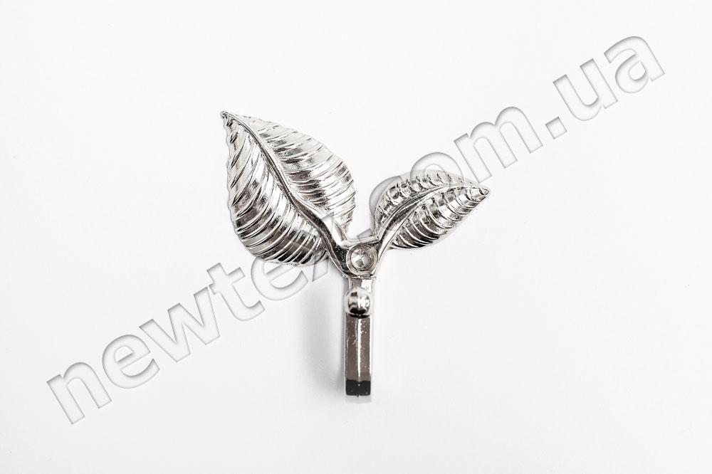 Тримач (підхоплення) для штор R202 Срібло