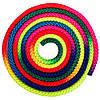 Скакалка для художественной гимнастики радуга 0390: длина 3м, диаметр 8мм