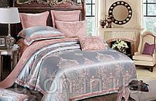 Комплект  постельного белья  жаккард bella villa евро размер J-0045