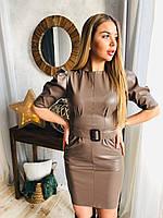 Нереально трендовое платье из эко кожи, фото 1