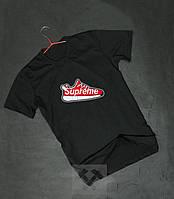 """Футболка """"В стиле Supreme"""" cross logo"""