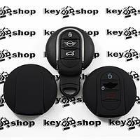 Чехол (черный, силиконовый) для смарт ключа Mini (Мини)