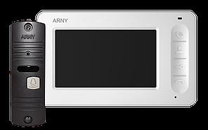 """Комплект видеодомофона ARNY AVD-4005 с монитором на 4"""" и видеопанелью 700твл"""
