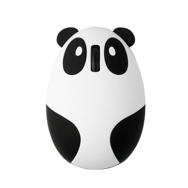 Беспроводная bluetooth мышь Панда со встроенным аккумулятором