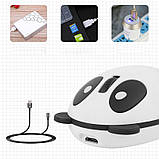 Беспроводная bluetooth мышь Панда со встроенным аккумулятором, фото 6