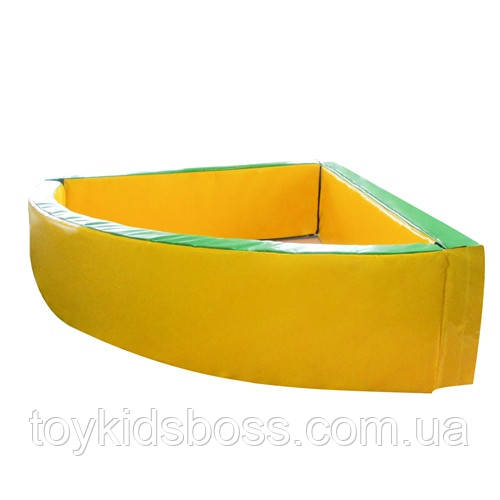 Сухой бассейн угловой 130-130-40 см Тia-sport