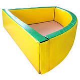 Сухой бассейн угловой 130-130-40 см Тia-sport, фото 2