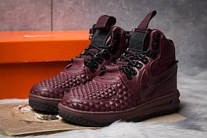 Зимние женские кроссовки 30926, Nike LF1 Duckboot, бордовые, < 36 > р.36-23,0