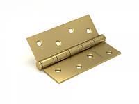Петля универсальная FUARO 4BB 100x75x2,5 SB (мат. золото), фото 1