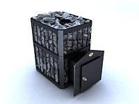 Печь-каменка «Пруток» на 26 м.куб, дровяная печь для бани. Наша доставка.