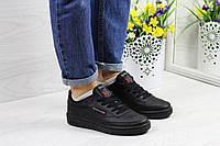 Подростковые,женские кроссовки Reebok Workout черные 36р
