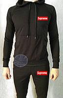 Теплый мужской спортивный костюм (флис) Supreme