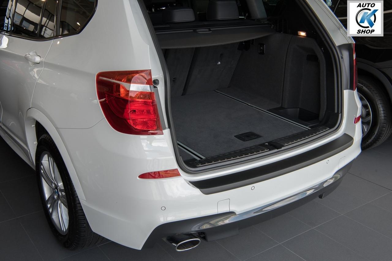 rbp548 Пластикова захисна накладка на задній бампер для BMW X3 F25 2010-2014, фото 5