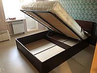 Деревянная кровать Лаура с подъемником, фото 1