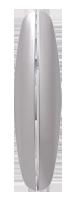 Вставка ABB EL-Bi Zirve SilverLine серебро (пара), Турция