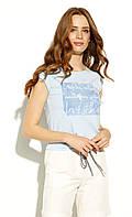 Блуза Helka Zaps голубого цвета. Коллекция весна-лето 2020, фото 1