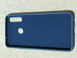 Накладка Silicon Cover full для Samsung A20s (сірий), фото 2