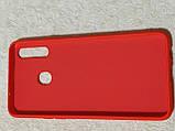 Накладка   Silicon Cover full   для  Samsung A20s    (красный), фото 2