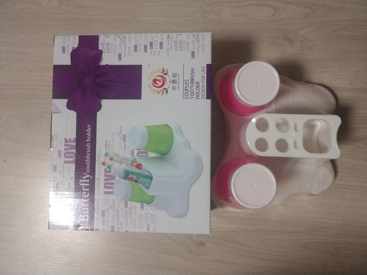 Подставка для зубных щеток и паст (dis20) 2