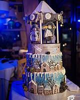 Торт Новогодний  с Логотипом (Корпоративный торт)