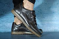 Мужские туфли кожаные Clarks,коричневые