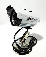 Внешняя цветная камера видеонаблюдения уличная CCTV 635 IP 1.3mp CCD 3,6mm DC 12V SYS PAL ИК подсветка