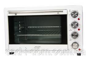 Электрическая печь духовка Adler AD 6001 35л 1500W White