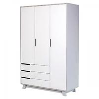 Шкаф Верес Манхэттен 1200 с ящиками (цвет: бело-серый), фото 1