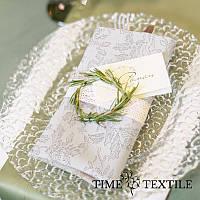 Салфетка Time Textile Garland Silver38х38 см