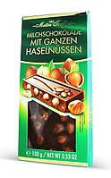 Молочный шоколад с цельным фундуком Maitre Truffout Mit Ganzen Hazelnussen 100 г Австрия