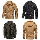 JP original 100% бавовна Чоловіча куртка мілітарі, фото 2