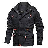 JP original 100% бавовна Чоловіча куртка мілітарі, фото 4