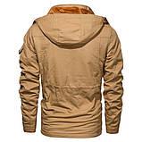 JP original 100% бавовна Чоловіча куртка мілітарі, фото 5