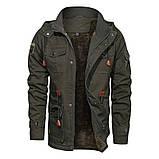JP original 100% бавовна Чоловіча куртка мілітарі, фото 6