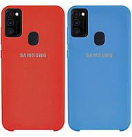 Чехол-накладка Original Silicone case на Samsung Galaxy M30s SM-M307F