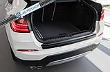 Пластиковая защитная накладка на задний бампер для BMW F26 X4 2014-2018, фото 2
