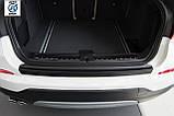 Пластиковая защитная накладка на задний бампер для BMW F26 X4 2014-2018, фото 4